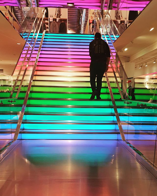 #autohash #SanFrancisco #UnitedStates #California #light #blur #motion #city #reflection #abstract #bright #mall #business #urban #nightlife #illuminated #speed #tunnel #evening #street #people #fast #modern #rainbow #gay - from Instagram