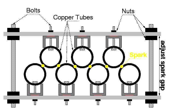 Derek's Lab: 1.35 Million-Volt Tesla Coil