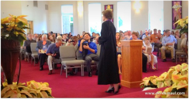 WFPC - It's a different view from behind the preacher!