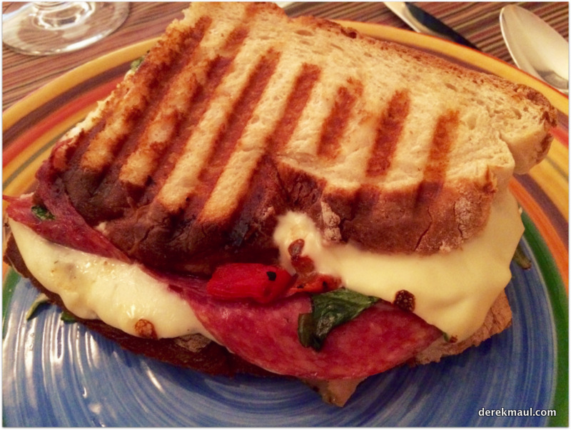 friends who understand that a Memorial Day Italian panini can be as good as a cook-out