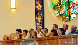 the choir listens!