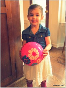 Beks' new soccer ball