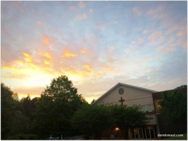 WFPC at sunset