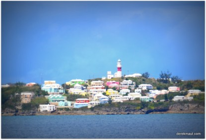 Bermuda - first sighting