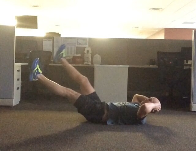 3 Quick Core Exercises To Do At The Office