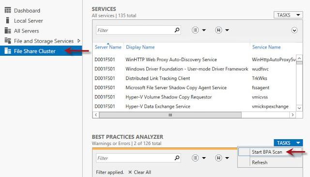 Windows Server 2012 SMB Transparent Failover with vSphere Part 2: Create/Test the Cluster - Derek Seaman's IT Blog