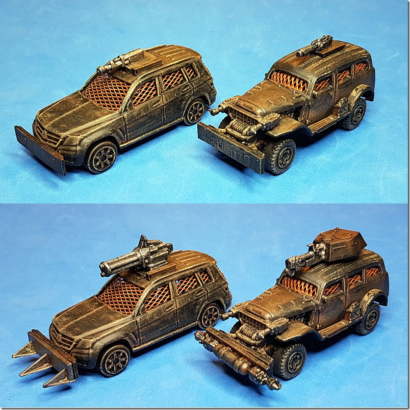 More Cars For Gaslands Derek S Wee Toys