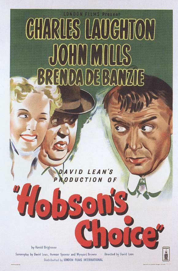 Hobsons Choice  1954 Charles Laughton John Mills