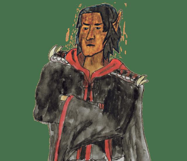 Die wichtigsten Charaktere: Kronprinz Iònatan Ryunòr, ein Elb.