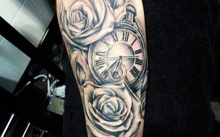 Tatuajes De Relojes Para Hombres Y Mujeres Los Mejores Diseños Y Estilos