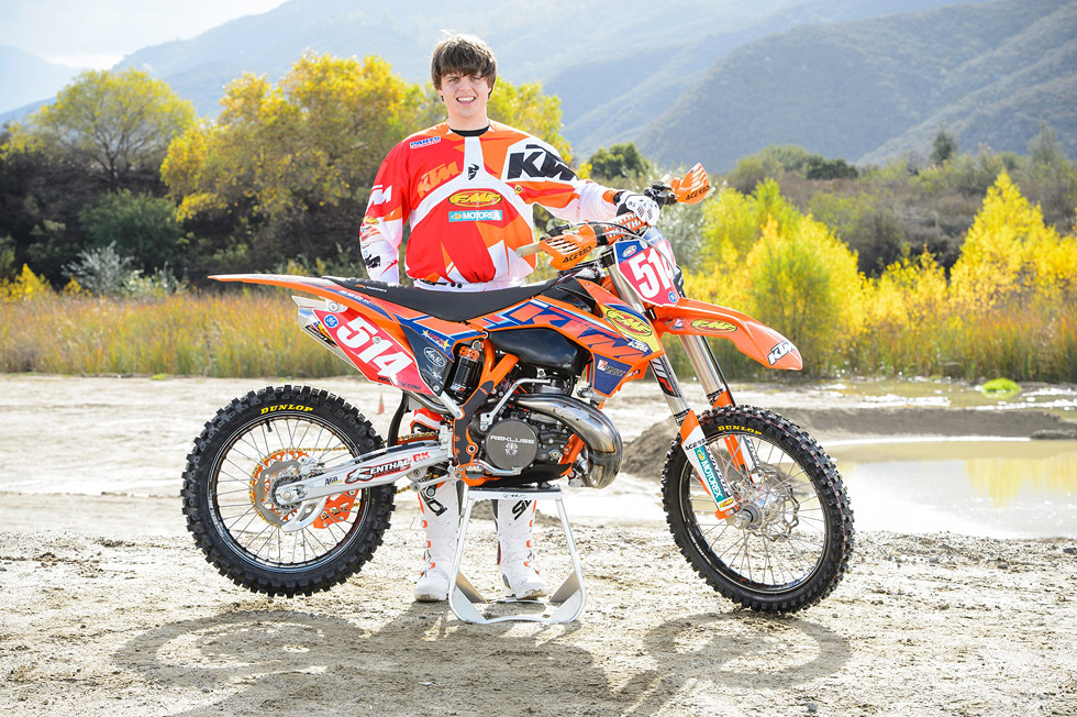 KTM USA Factory Racing GNCC Team Shooting 2013  DERESTRICTED