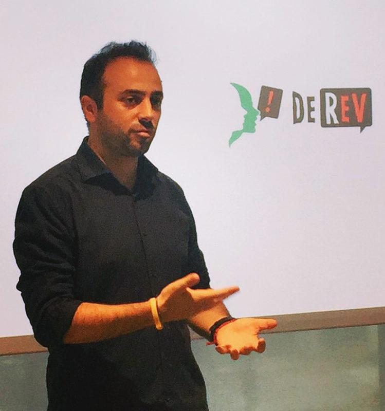 Roberto Esposito founder e CEO di DeRev la startup innovativa di crowdfunding, social media, digital listening, strategia digitale, reputation e web marketing
