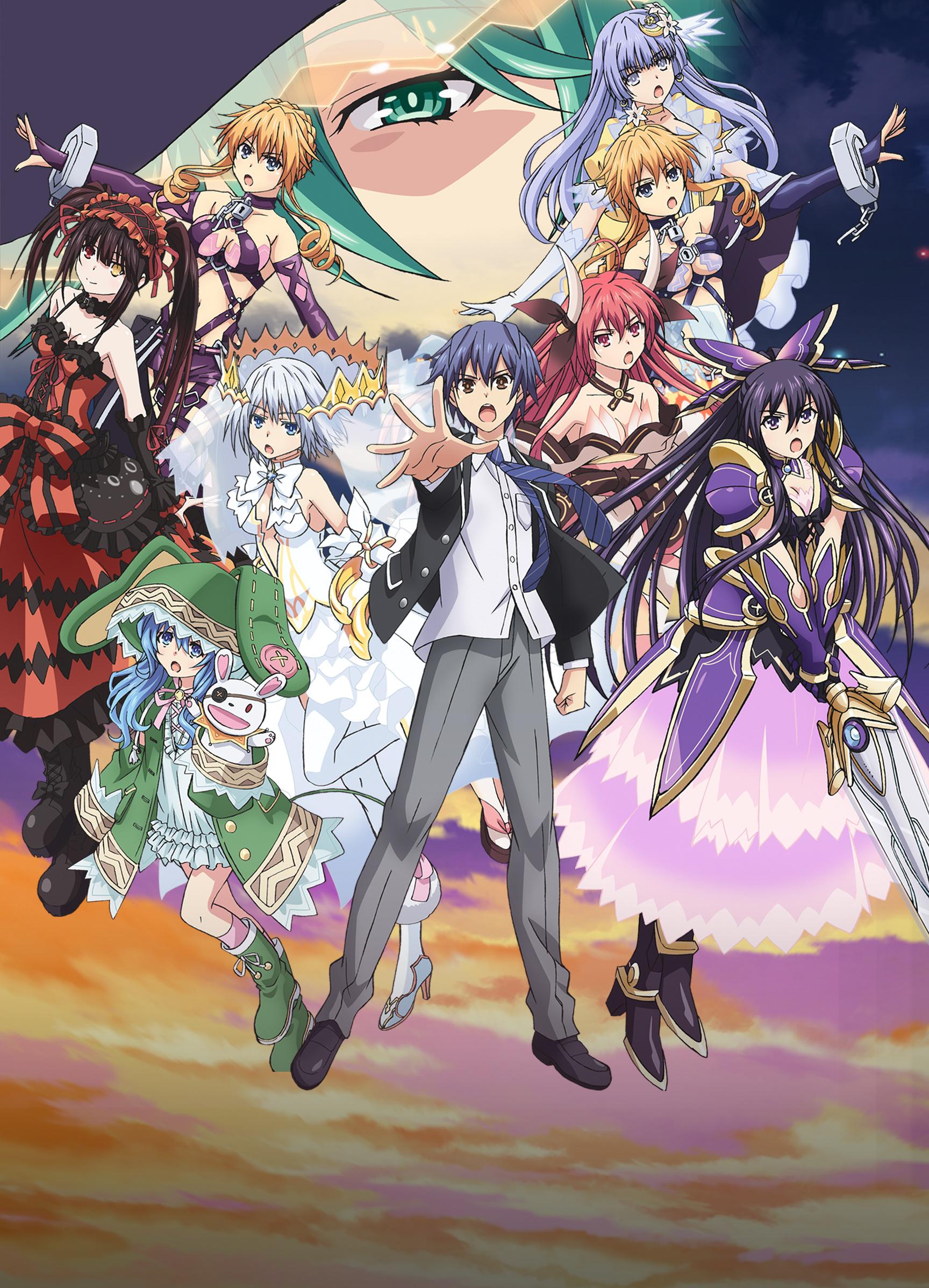 Date A Live Saison 3 Episode 4 Vostfr : saison, episode, vostfr, Watch, Comedy,, Service,, Romance,, Anime, Funimation