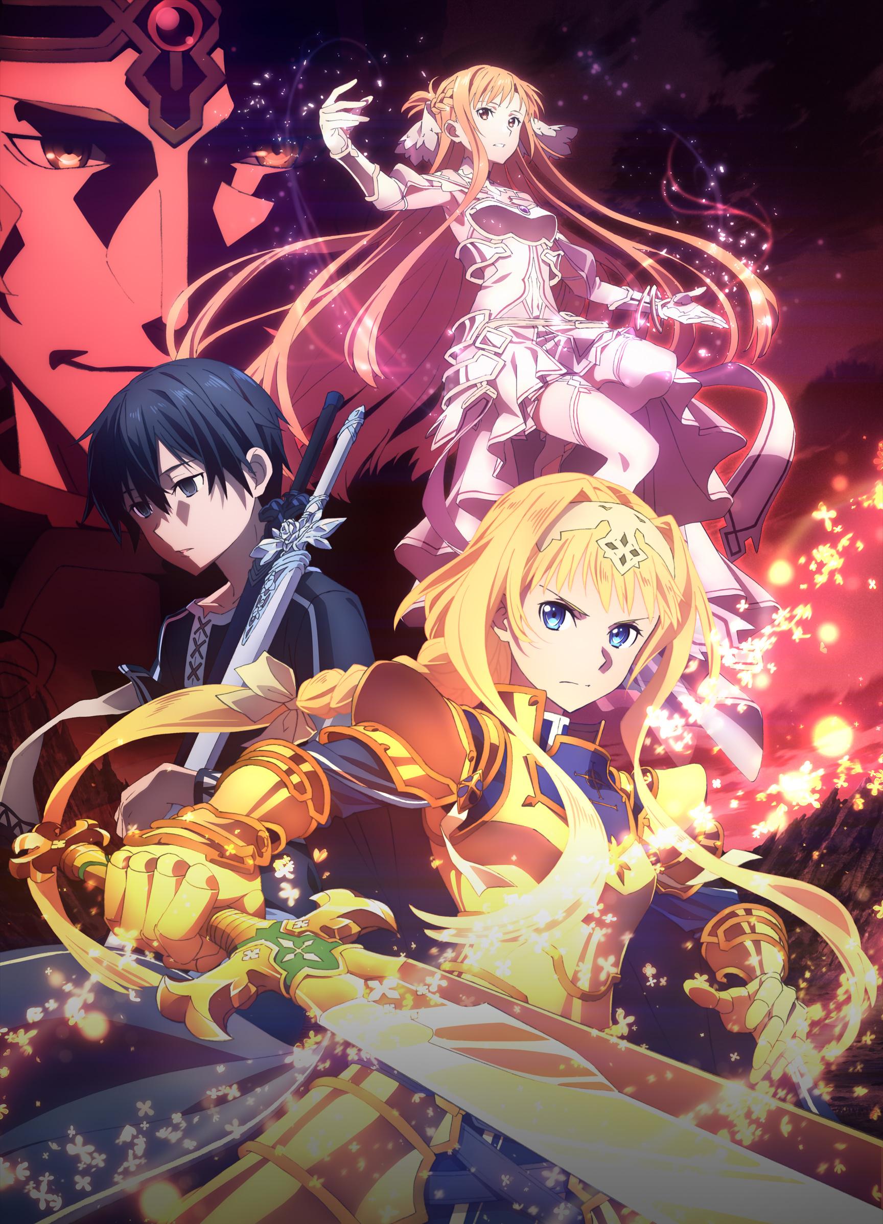Sword Art Online Ordinal Scale Stream Vostfr : sword, online, ordinal, scale, stream, vostfr, Watch, Sword, Online, Action/Adventure,, Fantasy,, Romance, Anime, Funimation