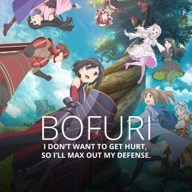 Image result for funimation BOFURI: I Don't Hurt, So I'll Max Out My Defense""