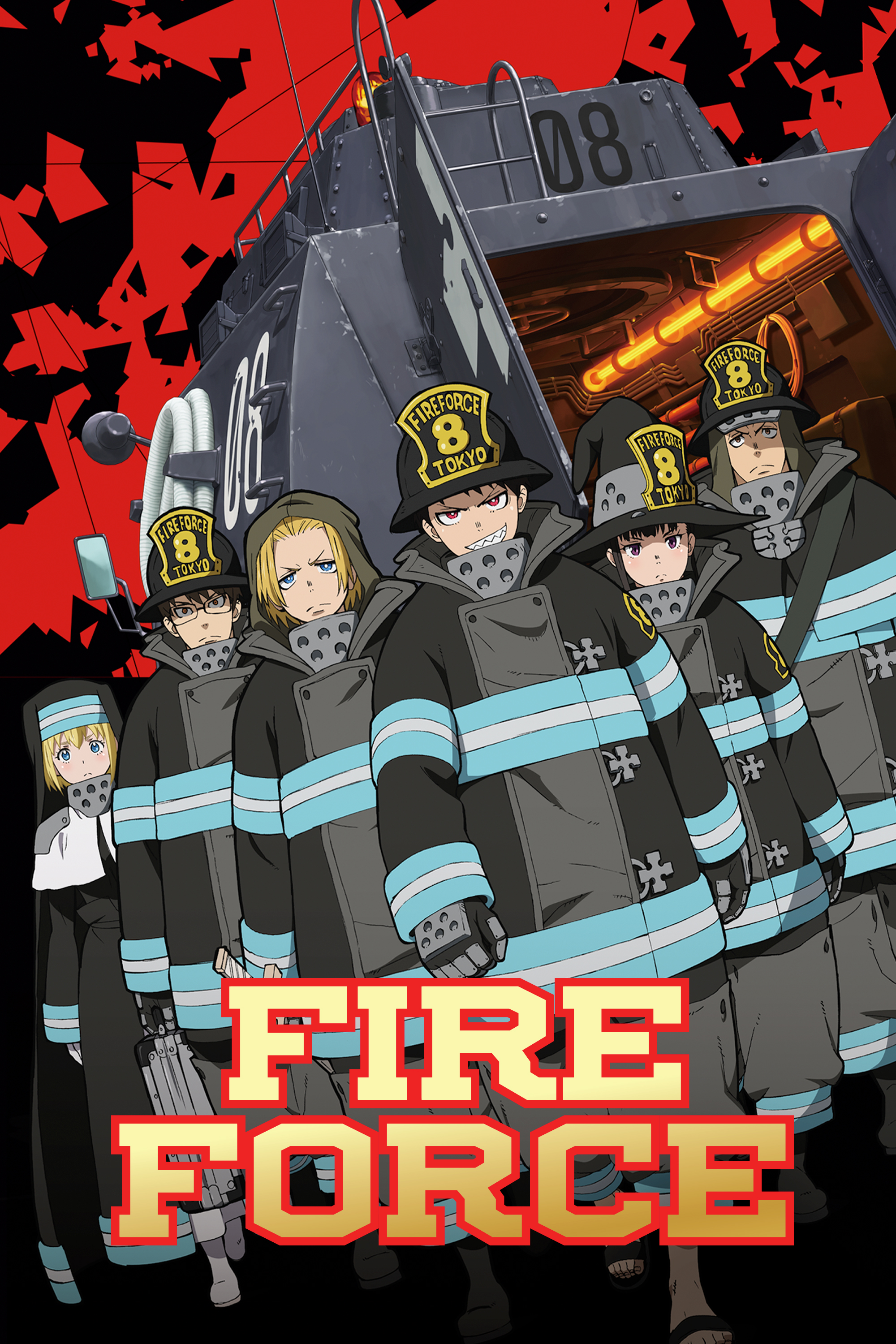 Fire Force Ep 10 Vostfr : force, vostfr, Watch, Force, Action/Adventure,, Anime, Funimation