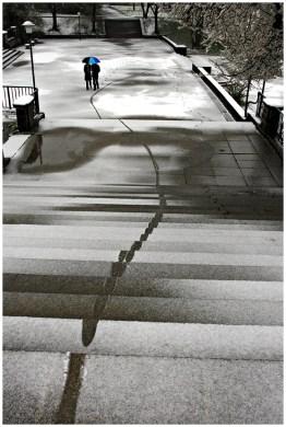 Schneestiege [© Reiner Reitinger, 2014]
