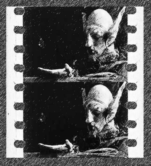 Filmstreifen: Die Reise zum Mars, USA 1910