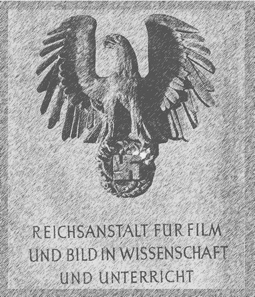 Logo der RWU mit Adler und Hackenkreuz