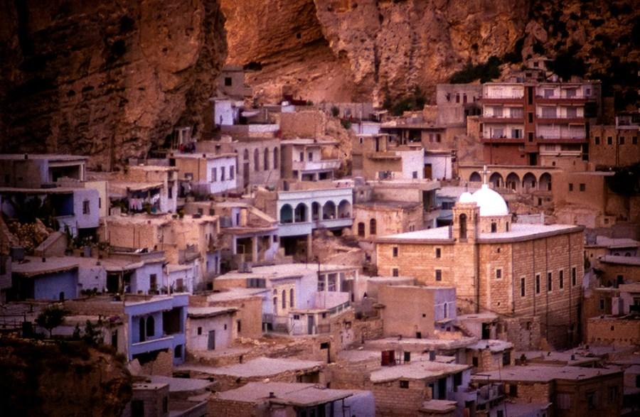 Malula: Orientalische Stadt im Fels