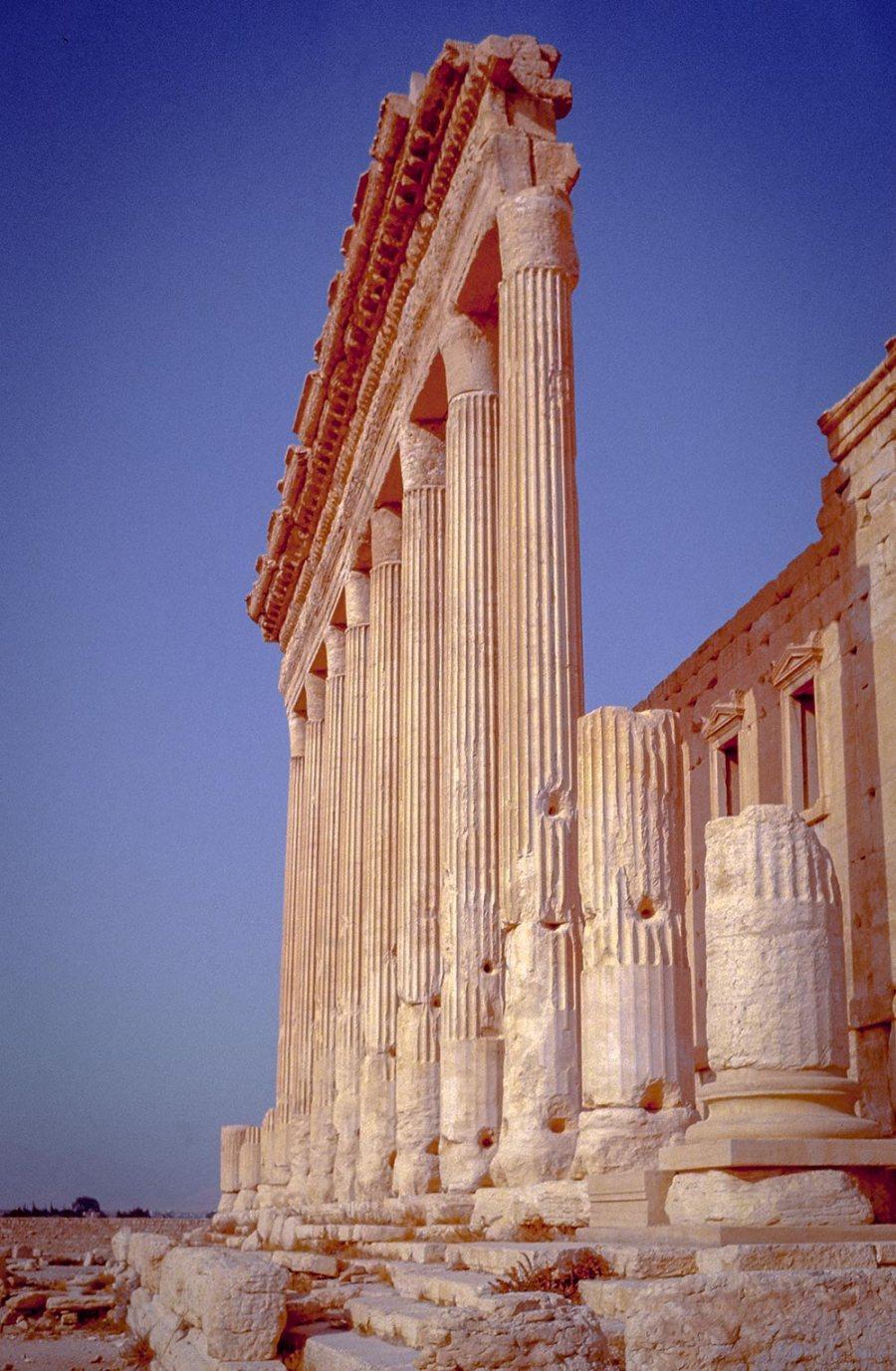 Antike Ruinen in Palmyra