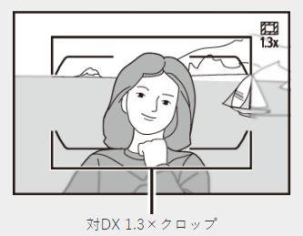 ニコン DXクロップ