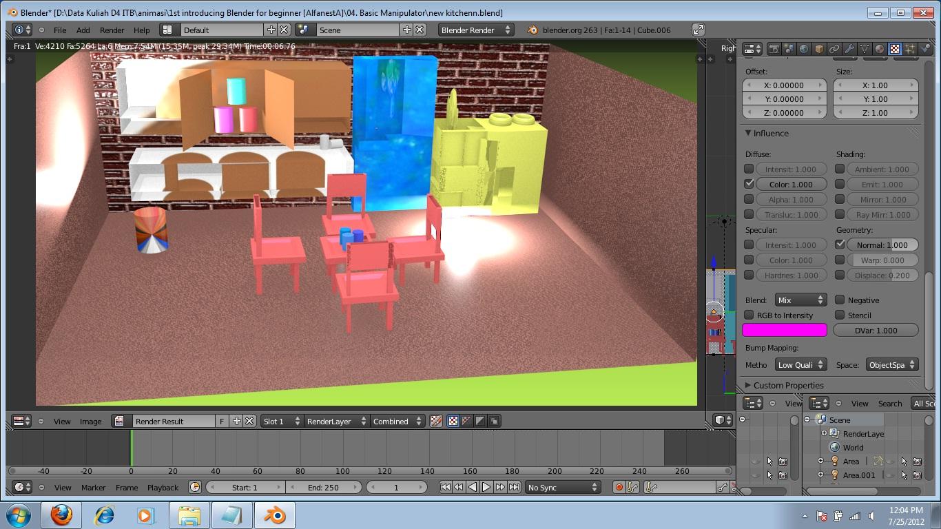 Membuat Animasi 3D dengan Blender