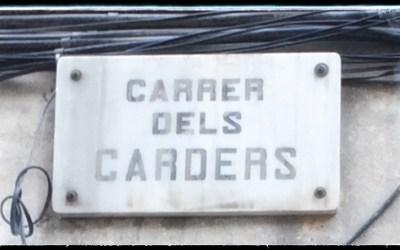 BARCELONA EL BORN: STARKE STRECKE CARRER DELS CARDERS