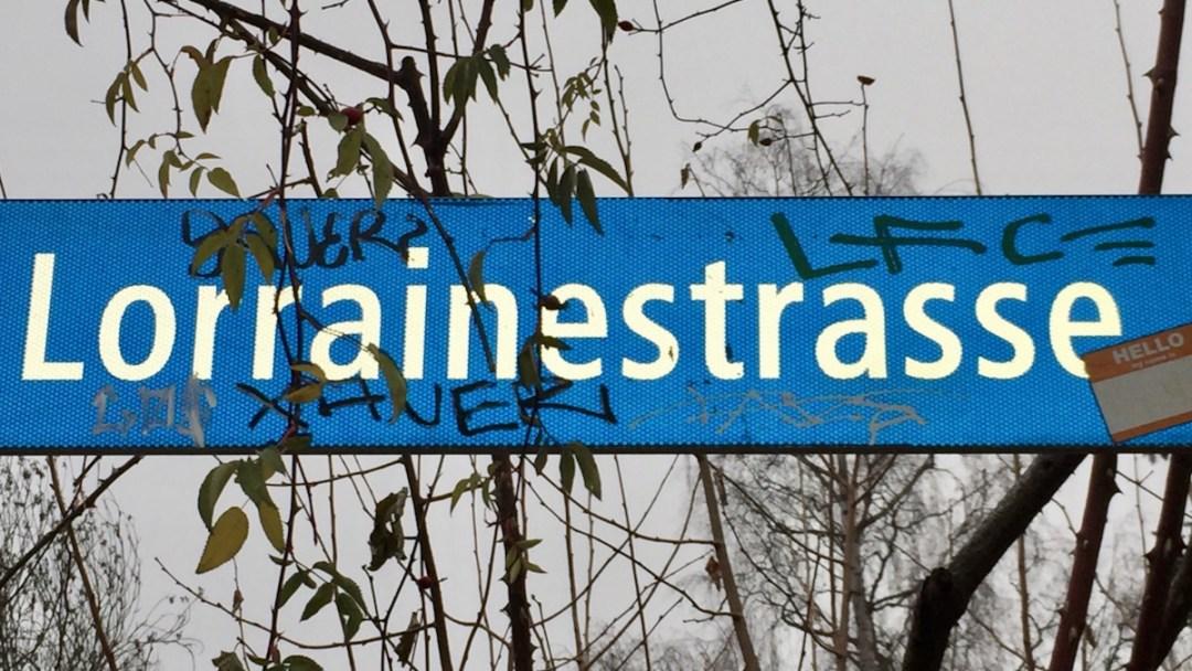 Starke Strecke Bern: Lorrainestrasse