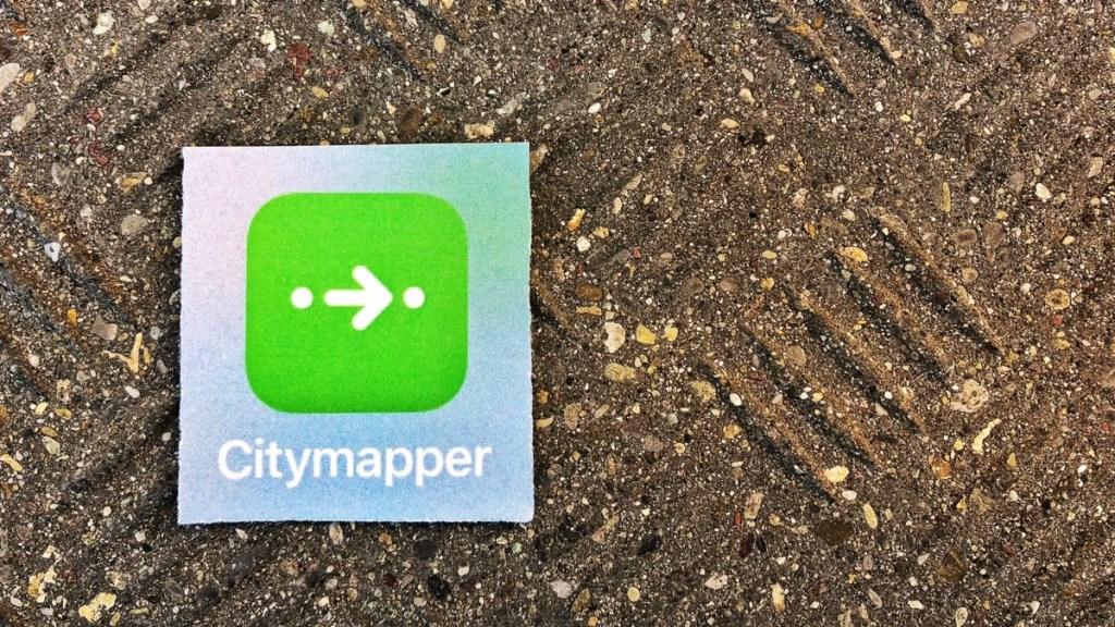 Reise App Citymapper im Test