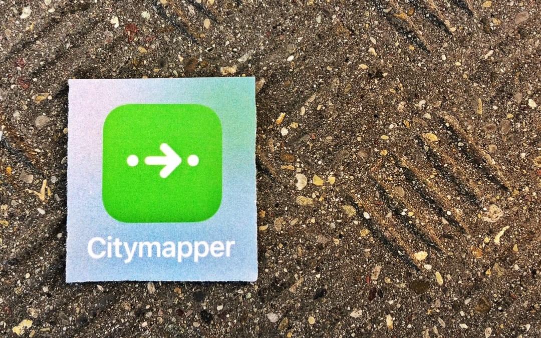 CITYMAPPER: DER (FAST) PERFEKTE STADT-NAVIGATOR
