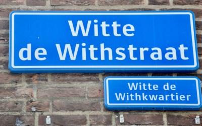 STARKE STRECKE ROTTERDAM: WITTE DE WITHSTRAAT