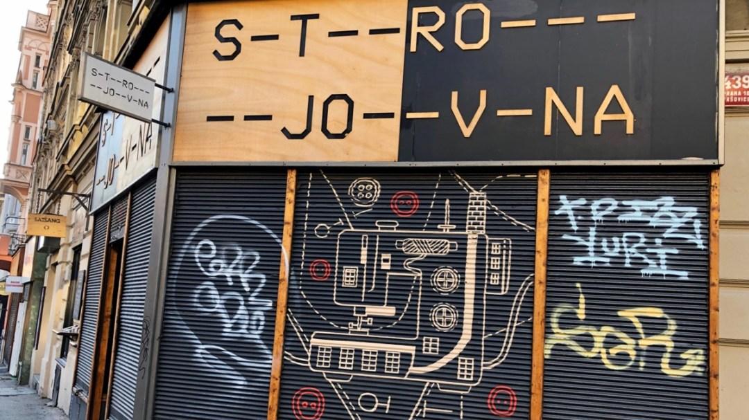 Krymská Prag: Textil-Atelier Strojovna
