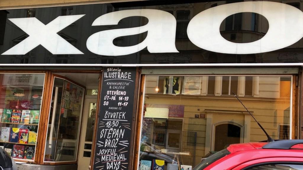 Buchhandlung Xaoxao in Prag