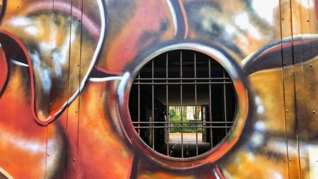 Hamburg-Altona: Wandkunst an der Friedensallee
