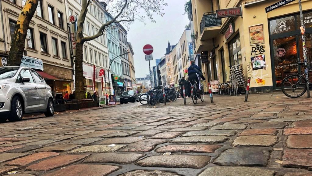 Trendviertel Hamburg-Ottensen, Bahrenfelder Straße