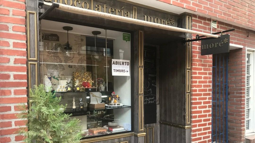 Medellin Kolumbien: Chocolateria Moré