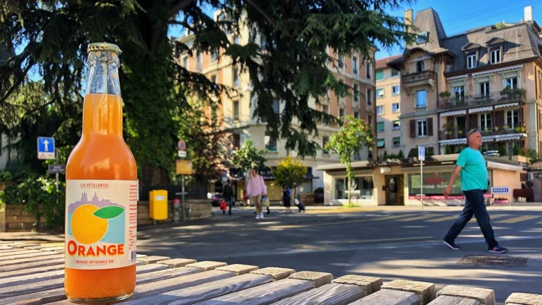 Lausanne entdecken im Bahnhofsviertel Sous Gare.