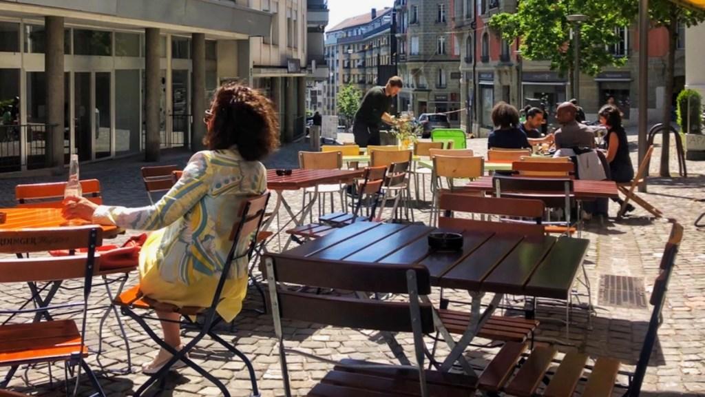 Lausanne Rue Marterey Pin Up Bar