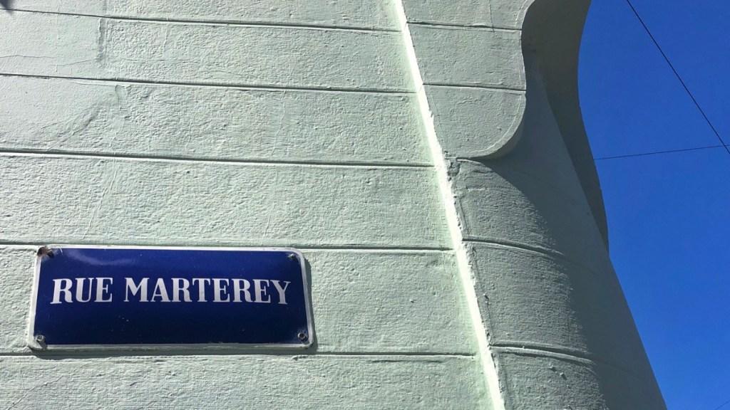 Lausanne Rue Marterey