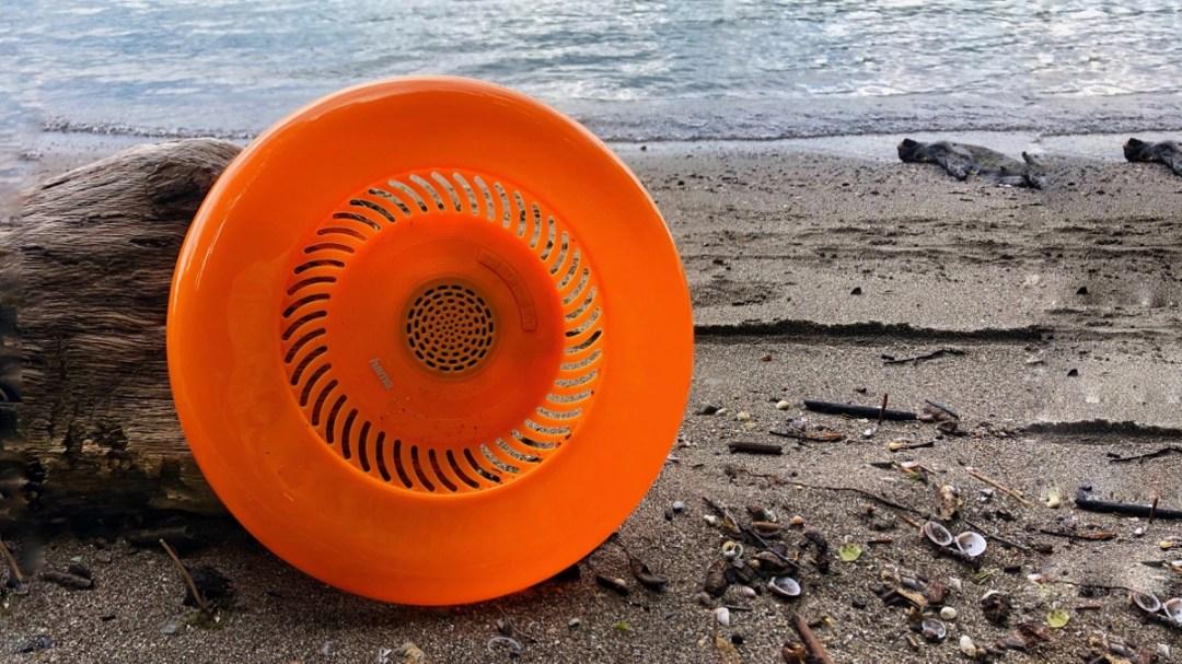 Bluetooth-Frisbee Flying Sound Disc im Test