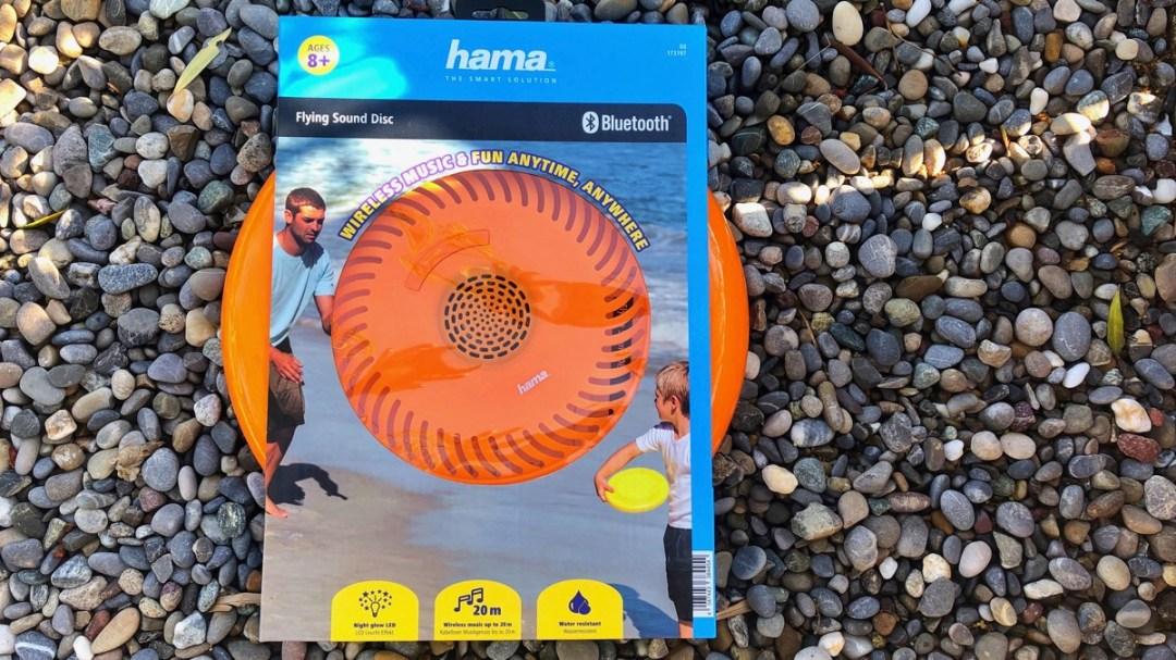 Flying Sound Disc: Frisbee mit Musik