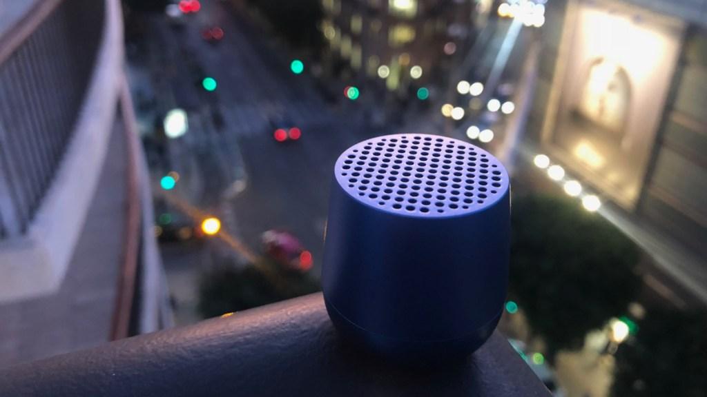 Lexon Mino Bluetooth Lautsprecher im Test, beliebter Beitrag auf dem Reiseblog Internaut