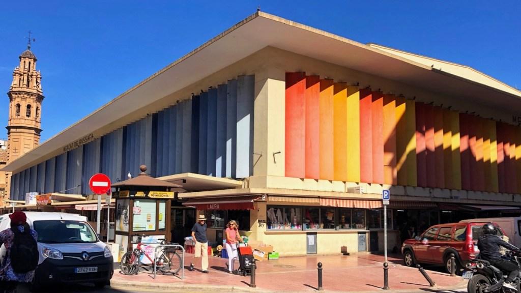 Mercat de Russafa in Valencia, Aussenansicht