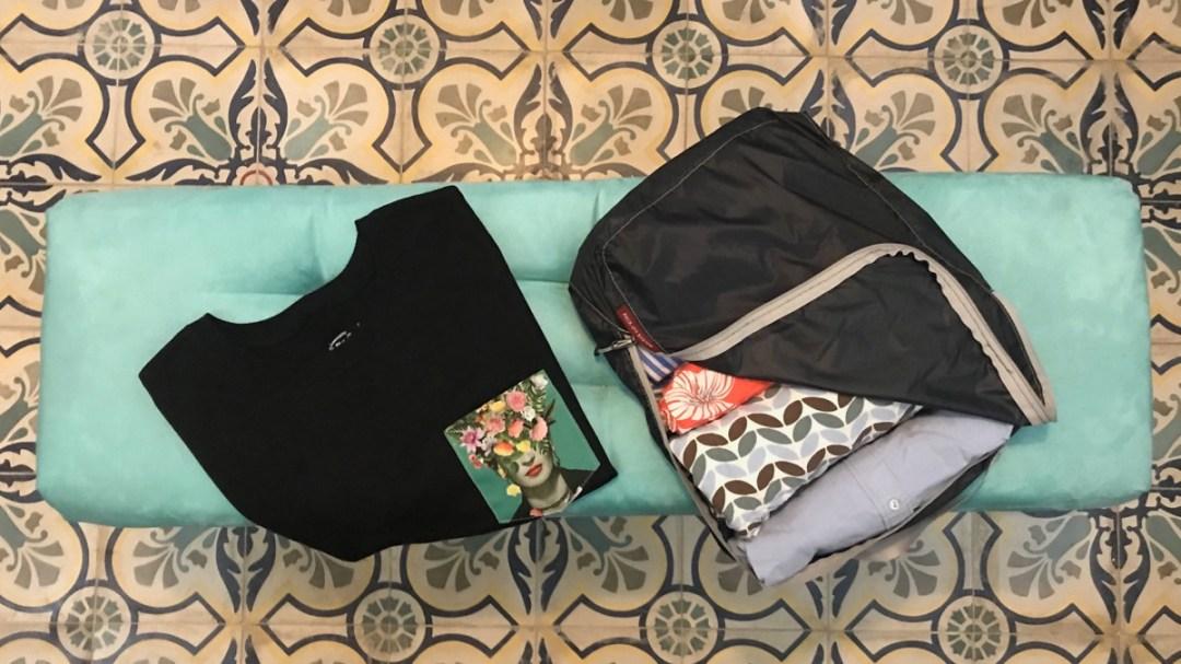 Packing Cubes für die Reise: So bringst Du mehr in Deinen Koffer rein. Travel-Tipp Nummer 6 von der digitalen Nomadin Anina Torrado auf dem Reiseblog derinternaut.ch