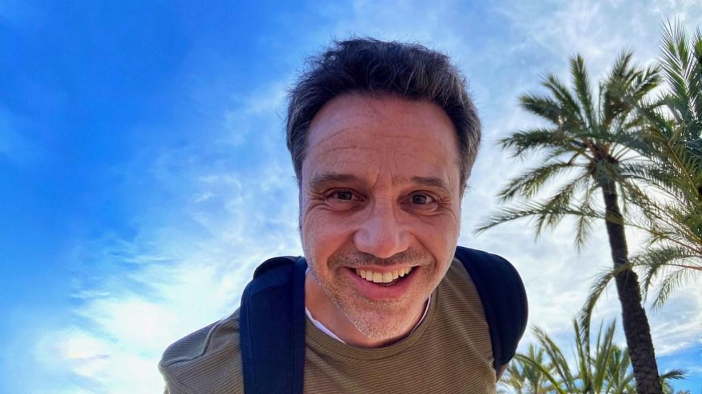 Andreas Güntert, Gründer und Blog-Owner Reiseblog der Internaut, hier in Valencia.