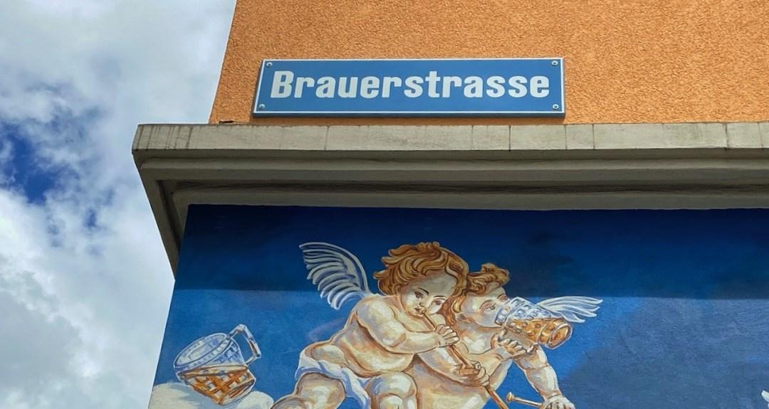 Brauerstrasse Zuerich aus der Serie Starke Strecke, Reiseblog Internaut.