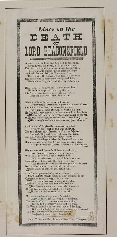 No Man Is Poor Who Has Friends : friends, Lines, Death, Beaconsfield, Elegies, Laments, English, Ballads, National, Library, Scotland