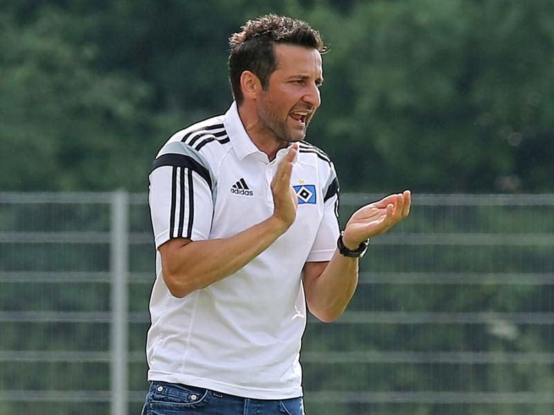 hsv coach zinnbauer will an der spitze