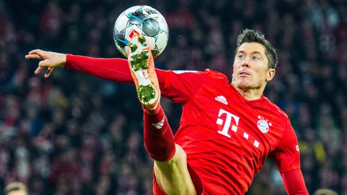 Record: Robert Lewandowski is currently playing for Bayern as he wants.